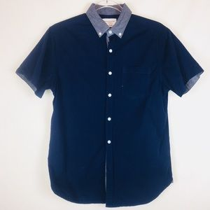 Denim & Flower | Men's Short Sleeve Button Down